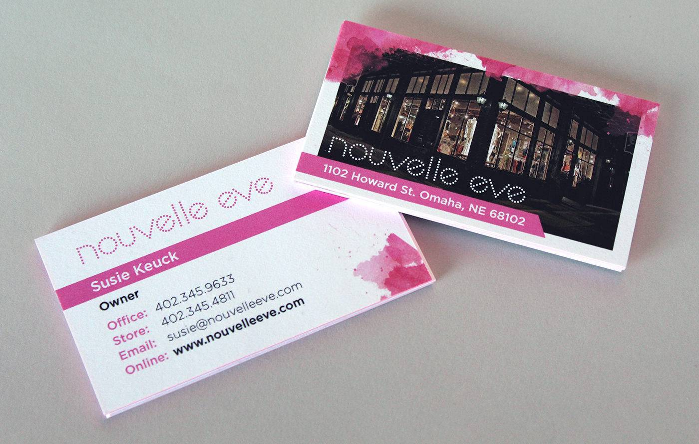 Nouvelle Eve Business Cards - Iridian Group